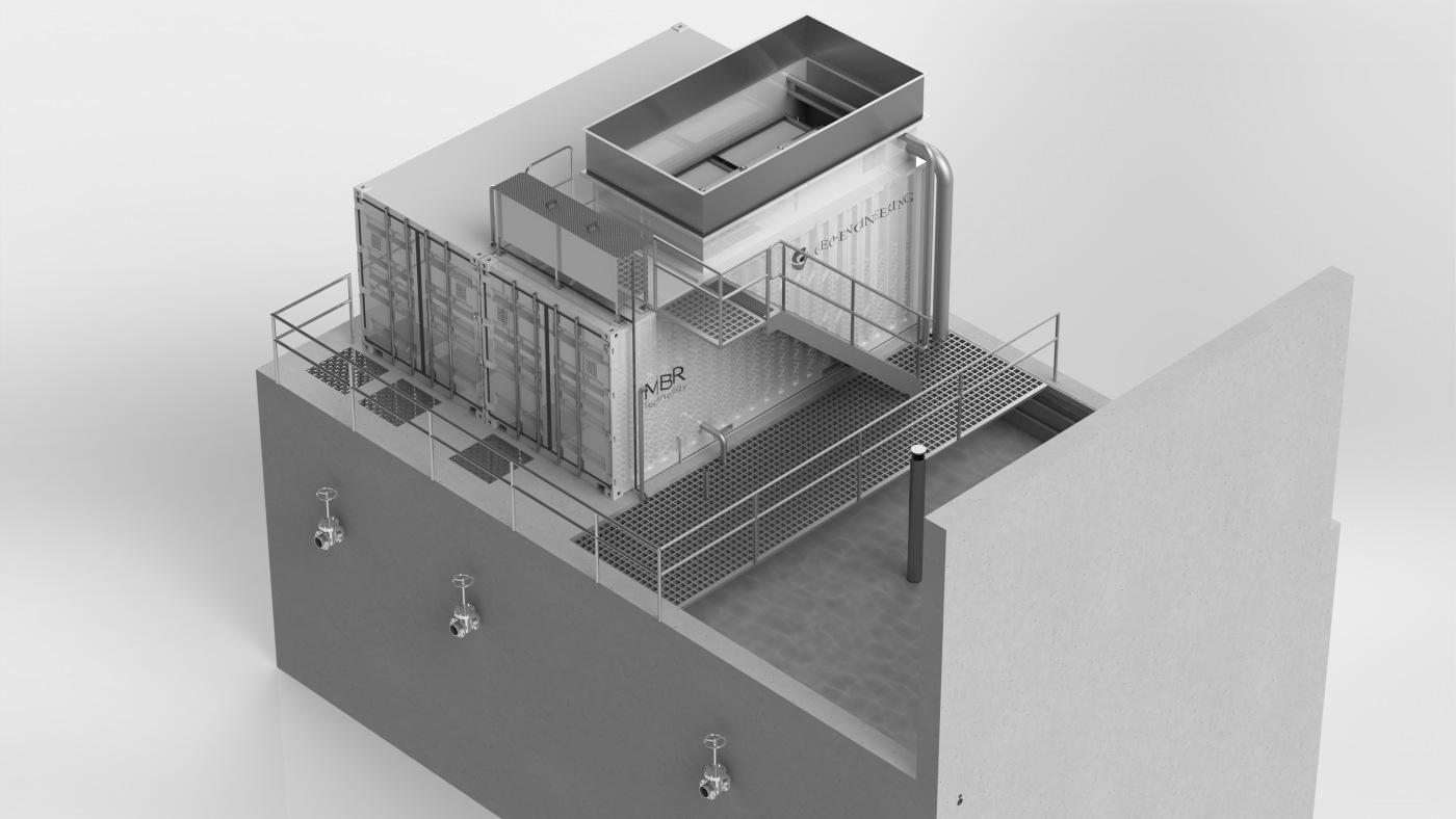 waterzuivering wasserij Klaratex Wevelgem
