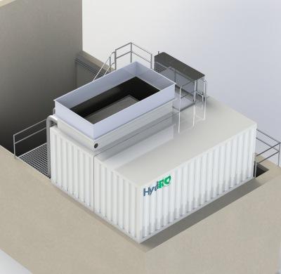 WWTP laundry Klaratex Wevelgem
